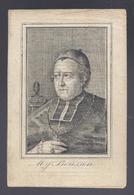 DOODSPRENTJE ZYNE HOOGWEERDIGHEYD BOUSSEN XVIIISTEN BISSCHOP VAN BRUGGE VEURNE 1774 GEVANGEN GENOMEN GENT ROME + 1848 - Images Religieuses