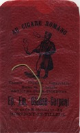 Montigny-Le-Tilleul : AU CIGARE ROMANO  : Tabacs-cigares-cigaret : Petite Sac D'origine 15 X 9 Cm: Clause-Carpent - Advertising