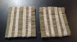 Insigne. Deux Pattes D'épaule - Armée De Terre