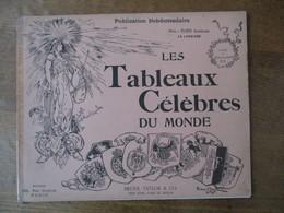 LES TABLEAUX CELEBRES DU MONDE ALBUM DES BEAUX ARTS 10 BRYAN, TAYLOR & CO. - Art