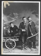 NIETZSCHE FRIEDRICH Photo 1882 Philologe Philosoph Philosopher Lou Salomé Paul Rée - Filosofia & Pensatori
