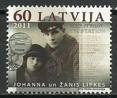 Latvia 2011 Mi 809 MNH ( ZE3 LTV809dav89C ) - Guerre Mondiale (Seconde)