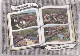 Souvenir De ...Willgottheim (67) Carte Façon Livre Avec 4 Vues - Unclassified