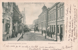 CPA BULGARIE - Roustchouck - PYCCE - Rustschuk - Alexander-Gasse - 1903 - Bulgarien