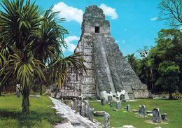 1 AK Guatemala * Tempel Des Großen Jaguar In Tikal - Antike Stadt Der Maya - Krüger Karte - Seit 1979 UNESCO Welterbe * - Guatemala