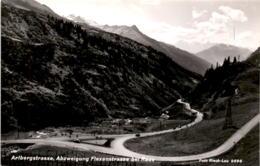 Arlbergstrasse, Abzweigung Flexenstrasse Bei Rauz (9996) - Stuben