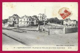 CPA Saint-Jean De Luz - Ciboure - Un Groupe De Villas Près De La Pointe Sainte-Barbe - Saint Jean De Luz