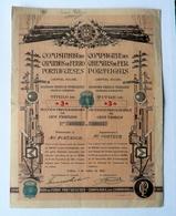 COMPAGNIE DES CHEMINS DE FER PORTUGAIS (1932) Lisbonne , Portugal - Chemin De Fer & Tramway