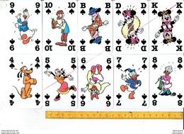54 Speelkaarten - JEU DE CARTES - PTZ - WALT DIENEY - Cartes à Jouer Classiques