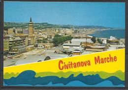 Italy, Civitanova, General View, '80s. - Macerata