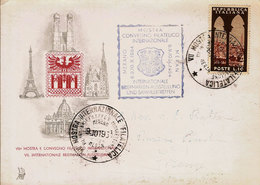 (C).Merano(BZ).Convegno Filatelico Internazionale.Cartolina A Tiratura Limitata E Numerata (c18) - Merano