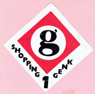 Sticker - SHOPPING 1 GENK - Aufkleber