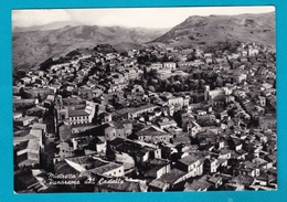 Mistretta - Panorama Dal Castello - Viaggiata 1956 - Autres Villes