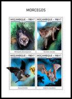 MOZAMBIQUE 2018 **MNH Bats Fledermäuse Chauves-souris M/S - OFFICIAL ISSUE - DH1852 - Bats