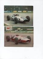 Lot  7 Cartes Photos  Formule FI - Grand Prix / F1
