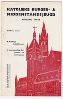 Ieper 1958 - Katholieke Burger- & Middenstandsjeugd - KBMJ VKBMJ - Programma's