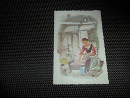 Geboortekaartje ( 405)   Vandermeulen / Santy  -  Melsele - Waas   1958 - Naissance & Baptême