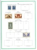 FRANCE - Collection 1929/1964 - Nfs N* (qques Obl.) - Bien Fournie - Bon état - Cote Supérieure à 3000 Eur. - France
