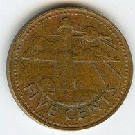Barbades Barbados 5 Cents 1973 KM 11 - Barbades