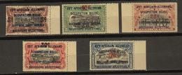 RUANDA - URUNDI Ocb Nr:  45 - 49 ** MNH (zie Scan) - 1916-22: Mint/hinged
