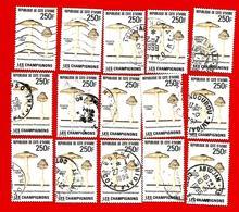 3365  -- COTE D' IVOIRE  --  1995 - Lot  De   Timbres  N°  953  Oblitérés - Côte D'Ivoire (1960-...)