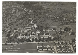 WIL SG Kantonales ASYL Eröffnet 1892 Fliegeraufnahme 1967 - SG St. Gall
