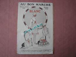 Au Bon Marché 1919 1 Catalogue Blanc 1 Cata. 1916 + Vetements Communion,+ Doc 12 échantillons Tissus - Textile & Vestimentaire