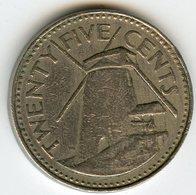 Barbades Barbados 25 Cents 1980 KM 13 - Barbades
