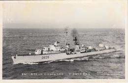 Thematiques Bateau Guerre France Escorteur D'Escadre D'Estrées - Sailing Vessels