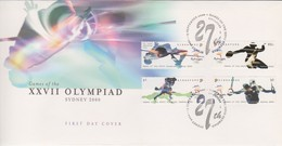Singapore 2000 Olympic Games FDC - Singapore (1959-...)