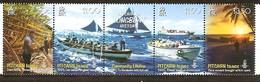 Pitcairn Islands 2008 Yvertn° 695-698  *** MNH Cote 14 Euro Bateaux Boten Ships - Pitcairn