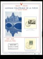 FRANCE  - Lot Environ 40 Documents Philatéliques + Divers  - Toutes époques - Bon état - France