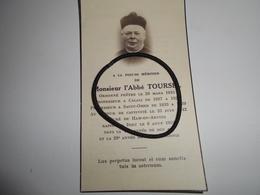 IMAGES PIEUSE L'abbé Toursel Curé De Ham En Artois 1959 - Images Religieuses