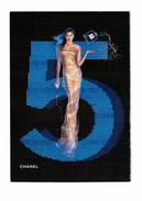 Cartes Parfumées Carte CHANEL N°5  De CHANEL   RECTO VERSO CARTE DOUGLAS - Modernas (desde 1961)