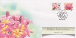Singapore 2007 Flora And Fauna Definitives FDC - Singapore (1959-...)
