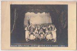 Ancienne Photo Soirée Enfantine Anhée 1943 - 9 X 13.5 Cm - Foto's