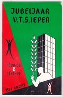 Ieper 1958-59 / Jubeljaar * 50 * Ieperse Vakschool V.T.S (heden V.T.I.) - Programma's