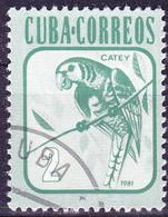 Kuba Cuba - Kuba-Sittich (Aratinga Euops) (Mi.Nr.: 2607) 1981 - Gest Used Obl - Cuba