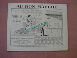 Au Bon Marché Très Interessant Catalogue 30 Pages 215X275 Orfevrerie, Service De Table, Hydrothéraphie, Chauffage Ect.. - France