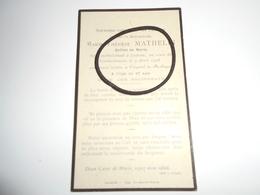 IMAGES PIEUSE Décédé Mortellement à Lestrem Au Cours Du Bombardement Du 9 Avril 1918 - Images Religieuses