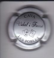 PLACA DE CAVA VIDAL I FERRE (CAPSULE) LES POBLES - Placas De Cava