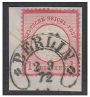 ALLEMAGNE EMPIRE -- 2 SEPT.1872 -- OBLITERATION FER A CHEVAL -- BERLIN -- - Deutschland