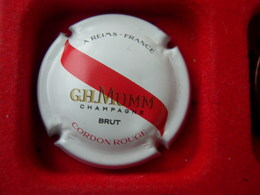 *  Capsule De Champagne G.H.MUMM N°162    * - Capsules & Plaques De Muselet