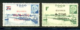 Togo 1944 Yvert 226 / 227 ** TB - Togo (1914-1960)