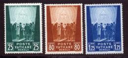Vatican 1942 Yvert 95 / 97 ** TB - Neufs