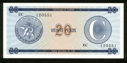 Cuba - Kuba 1985 ?, 20 Pesos, EC 120551, UNC - Kuba