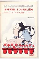 Ieper 1955 - Ieperse Floraliën - Programma Nationale Tentoonstelling - Programma's