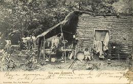 El Salvador, C.A., Una Casa Campestre, Native Country House (1899) Postcard - Salvador