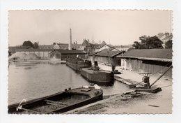 - CPSM DIJON (21) - Le Port Du Canal - Editions De Bourgogne 1054 - - Dijon
