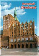 1 AK Germany * Rathaus (1370) Und Nikolaikirche (13. Jh.) In Stralsund - Seit 2002 Weltkulturerbe Der UNESCO - Stralsund